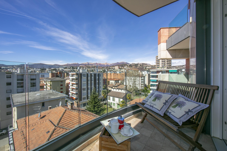 Ferienwohnung Panoramic Penthouse (2589747), Viganello, Lago di Lugano (CH), Tessin, Schweiz, Bild 6