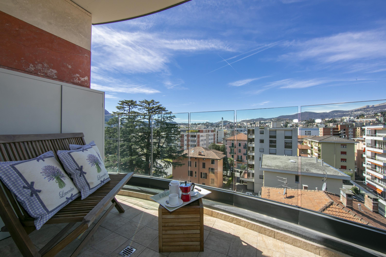 Ferienwohnung Panoramic Penthouse (2589747), Viganello, Lago di Lugano (CH), Tessin, Schweiz, Bild 7