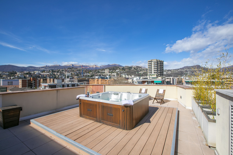 Ferienwohnung Panoramic Penthouse (2589747), Viganello, Lago di Lugano (CH), Tessin, Schweiz, Bild 2