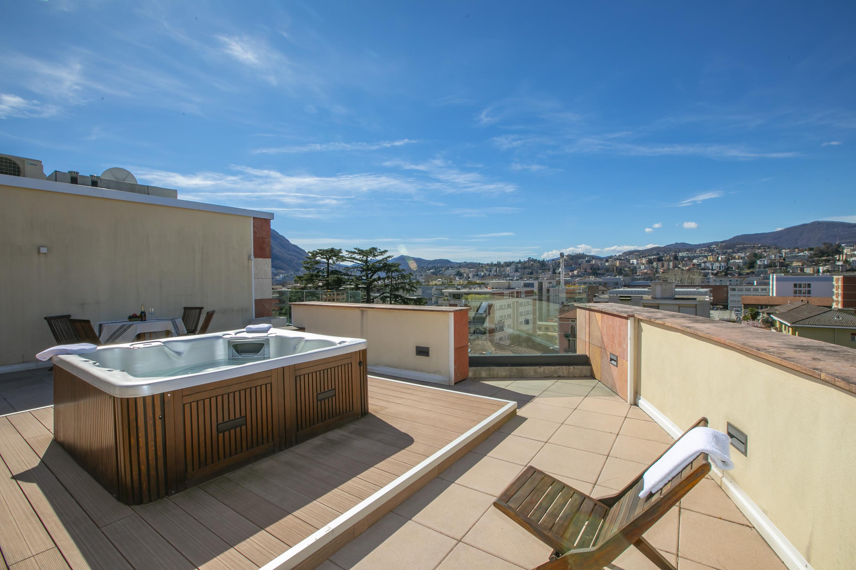 Ferienwohnung Panoramic Penthouse (2589747), Viganello, Lago di Lugano (CH), Tessin, Schweiz, Bild 3